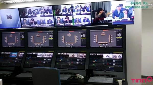 성남시의회  HD 디지털 프로덕션 중계 시스템  계약 구축